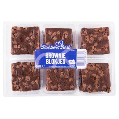 Bakkers Best Brownie blokjes