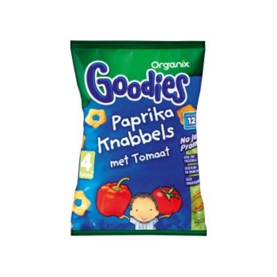 Organix Goodies paprika knabbels