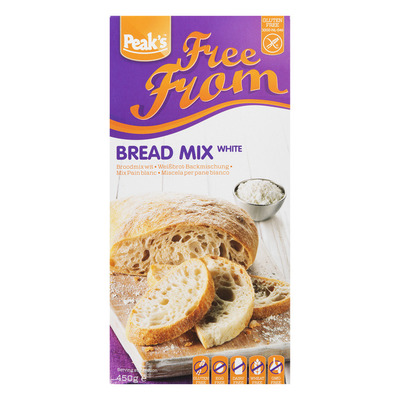 Peak's Broodmix wit glutenvrij