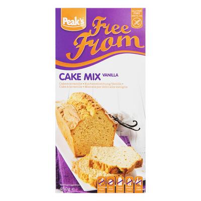 Peak's Cakemix vanille glutenvrij