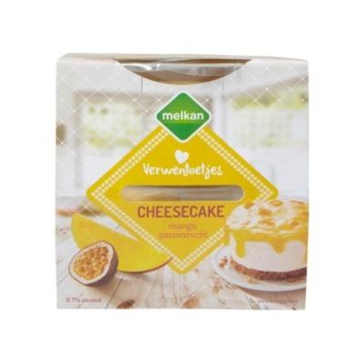Melkan Cheesecake mango passievrucht