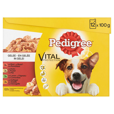 Pedigree Maaltijdzakjes favourites in gelei