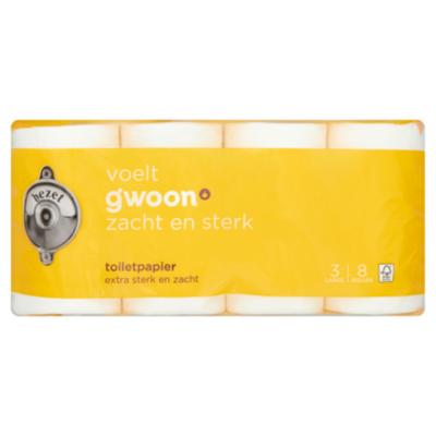 G'woon Toiletpapier 3-laags