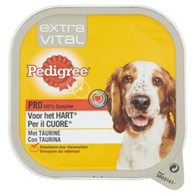 Pedigree Extra Vital voor het Hart kuipje