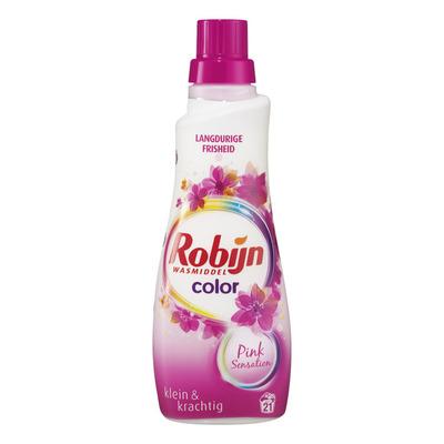 Robijn Klein & krachtig wasmiddel color pink