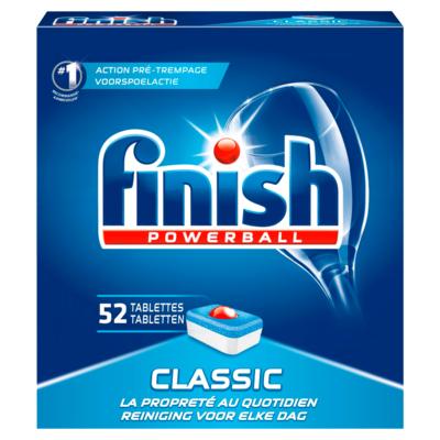 Finish Powerball Classic 52 Tabletten 832 g