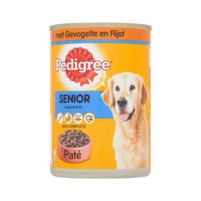 Pedigree Hondenvoer Nat Gevogelte Senior Blik