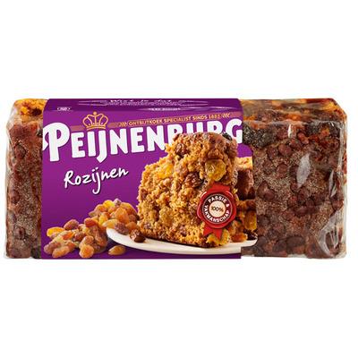Peijnenburg Ontbijtkoek rozijnen