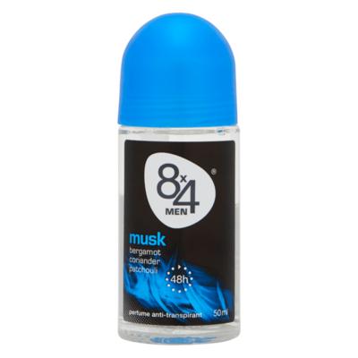 8x4 Men Musk Perfume Anti-Transpirant