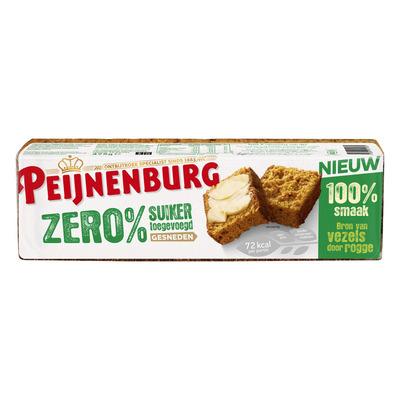 Peijnenburg Zero% suiker gesneden ontbijtkoek