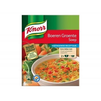 Knorr Mix boeren groentesoep