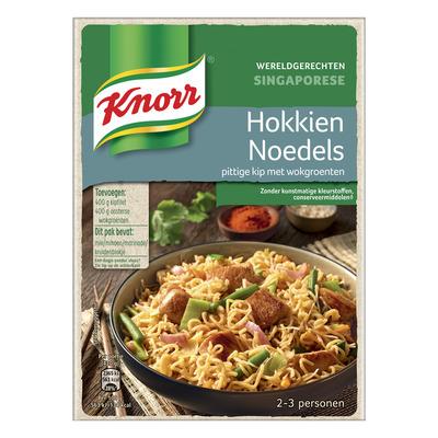 Knorr Wereldgerechten hokkien noedels