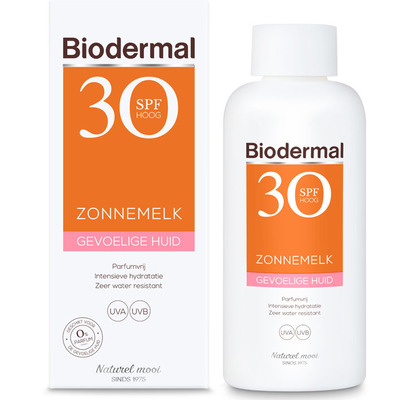 Biodermal Gevoelige huid zonnemelk SPF30