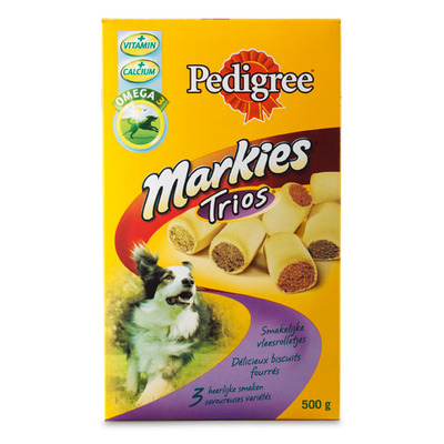 Pedigree Markies trio