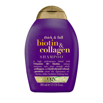 OGX Thick and full biotin collagen shampoo