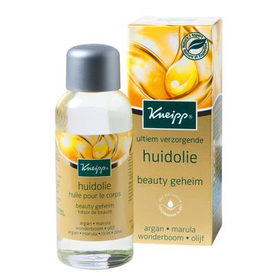 Kneipp Huidolie beauty geheim