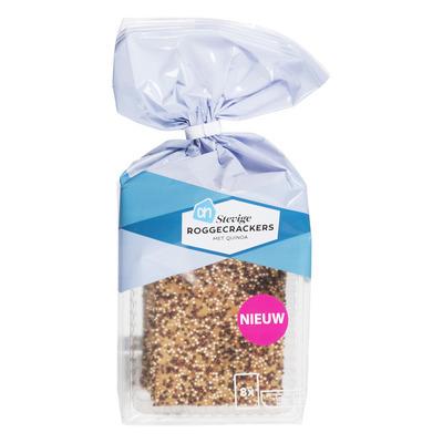 Huismerk Stevige roggecrackers met quinoa