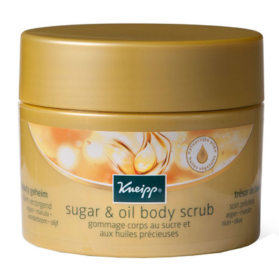 Kneipp Sugar & oil bodyscrub beauty geheim