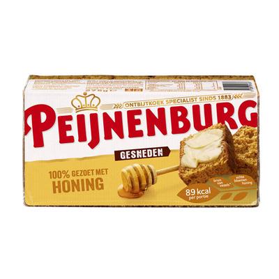 Peijnenburg Ontbijtkoek honing gesneden