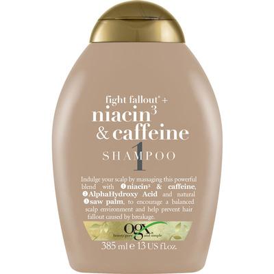 OGX Anti-hair fallout caffeine shampoo