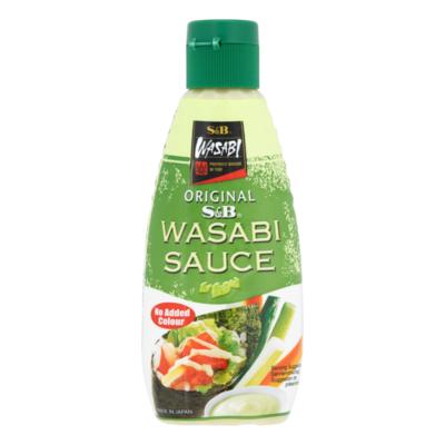 S&B Mierikswortel Saus met Japanse Wasabi