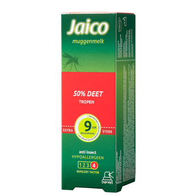 Jaico Muggenmelk spray 50% deet