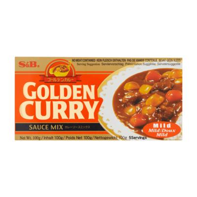 S&B Golden Curry Sauce Mix Mild