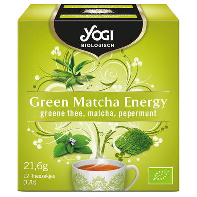 Yogi Green matcha energy bio