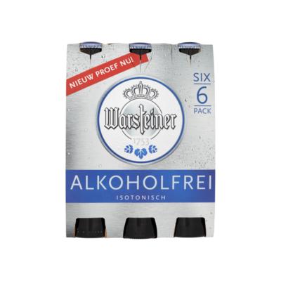 Warsteiner Alkoholfrei Isotonisch Flessen