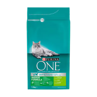 Purina ONE Bifensis Dual Defense Indoor Formula Kalkoen
