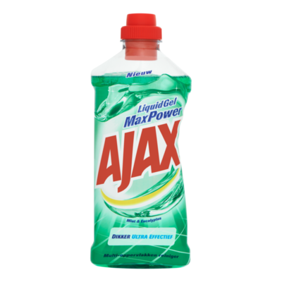 Ajax Liquid Gel Max Power Mint & Eucalyptus Multi-Oppervlakken Reiniger