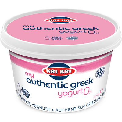 Kri Kri The original Greek yogurt 0%
