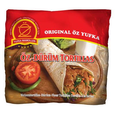 Yufka Oz durum tortillas