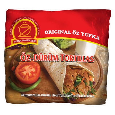 Yufka Oz durum tortillas