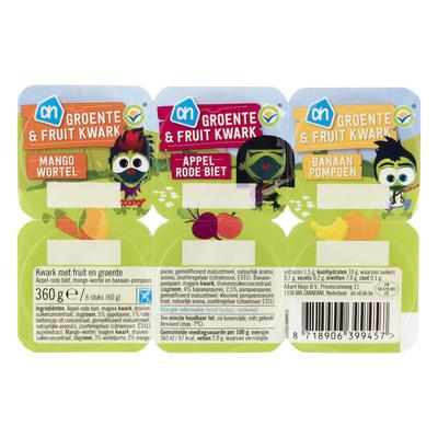 Huismerk Groente en fruit toetje
