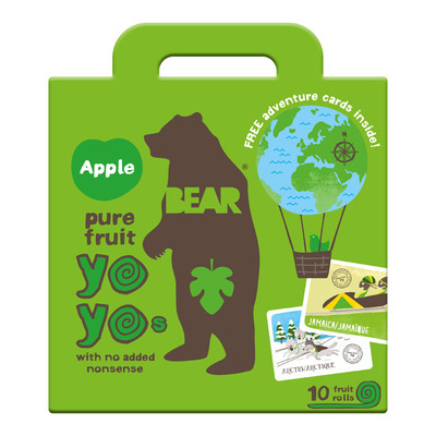 Bear Pure fruit apple yoyos