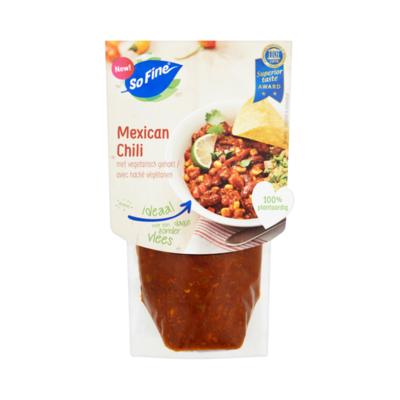 SoFine Mexican Chili met Vegetarisch Gehakt