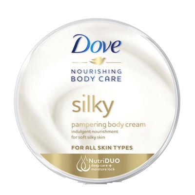Dove Bodycrème silky nourishment