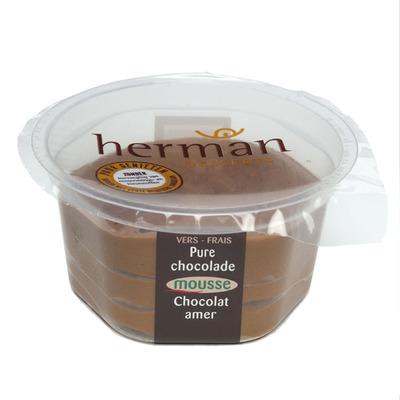 Herman Bittere chocolademousse