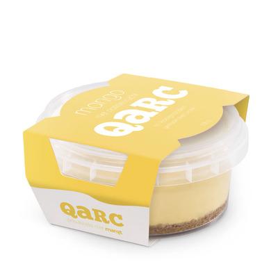 Qarc Mango-passievrucht met koekjesbodem