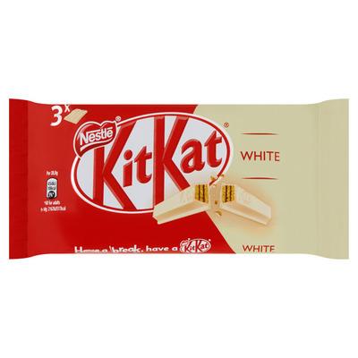 Kitkat 4 finger white 3-pack