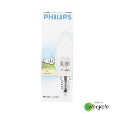 Philips Halogen Classic kaarslamp E14/28W (35W)