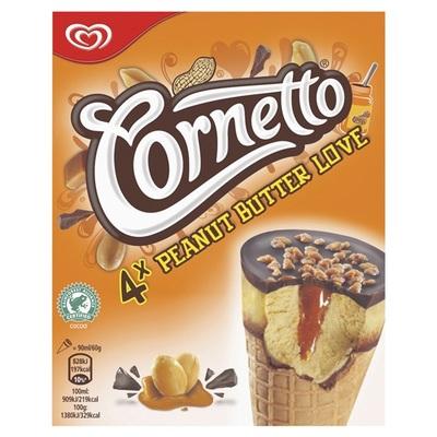 Ola Ola cornetto peanut butter