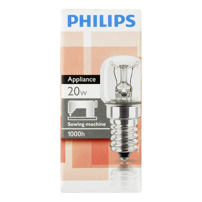 Philips Naaimachinelampje 20W