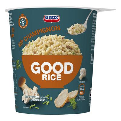 Unox Good rice risotto kip champignon