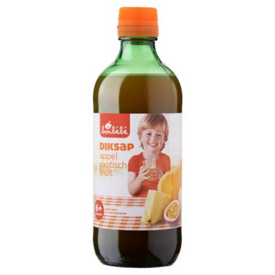 Huismerk Diksap Appel Exotisch Fruit 6+ Maanden 500 ml