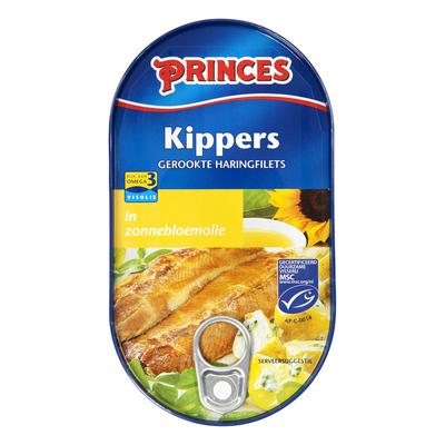 Princes Kippers in zonnebloemolie