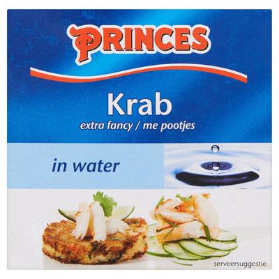 Princes Krab in water