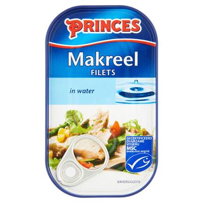 Princes Makreel in water