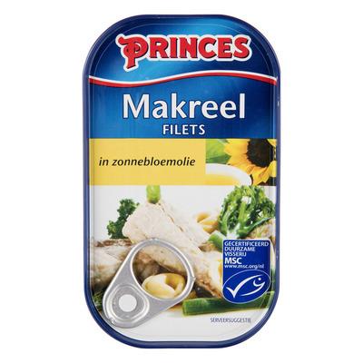 Princes Makreel in zonnebloemolie